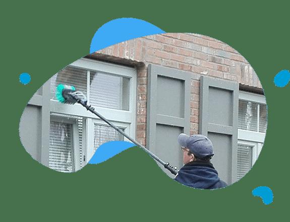 telescopische osmose van ramen, vensters & zonnepanelen België